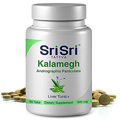 OPTIMAL LIVER FUNCTION – Andrographis Paniculata or Kalmegh helps in managing liver problems. Its antioxidant and hepatoprotective properties help prevent liver cells from getting damaged due to free radicals. PROMOTES NORMAL INFLAMMATION LEVELS– Our...