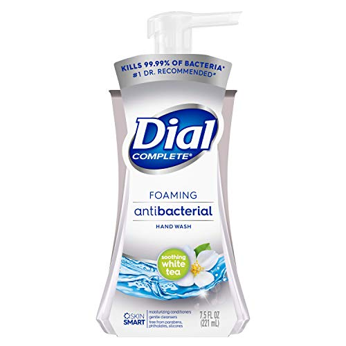 Dial Complete Foaming Antibacterial Hand Wash, Soothing White...