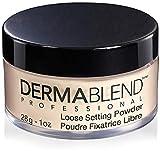 Dermablend Loose Setting Powder, Cool Beige Face Powder & Finishing Powder Makeup for Light, Medium and Tan Skin Tones, Mattifying Finish and Shine Control, 1oz