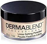 Dermablend Loose Setting Powder, Cool Beige Face Powder Makeup for Light, Medium and Tan Skin Tones, Mattifying Finish and Shine Control, 1oz
