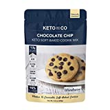 Chocolate Chip Soft-Baked Keto Cookie Mix by Keto and Co | Just 1.5g Net Carbs Per Serving | Gluten Free, Low Carb, No Added Sugar, Naturally Sweetened | (Chocolate Chip Cookies)