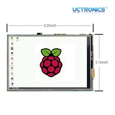 UCTRONICS-35-Inch-Touch-Screen-for-Raspberry-Pi-4-HDMI-TFT-LCD-Mini-Display-with-Stylus-Pen-for-Pi-4-B-3-B
