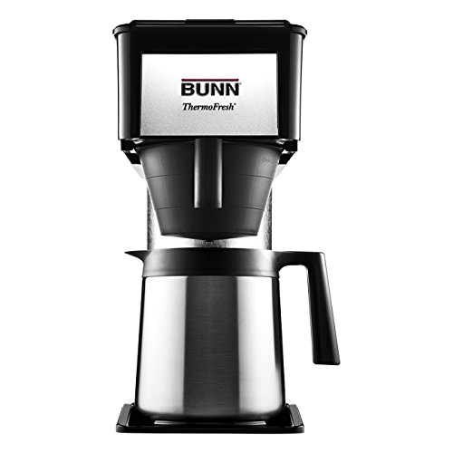 BUNN BT BT Speed Brew 10-Cup Thermal Carafe Home Coffee Brewer,...