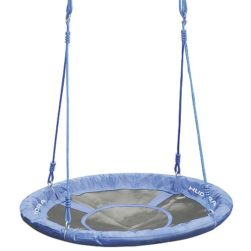 HUDORA Nestschaukel 90 cm, blau - Garten-Schaukel bis 100 kg belastbar - 72126