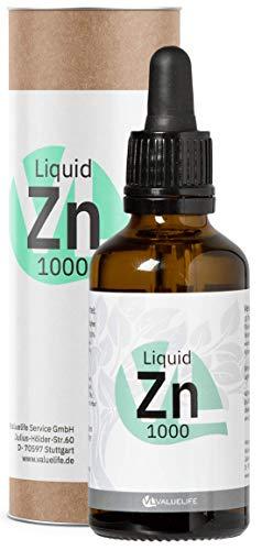 VALUELIFE | Triple Ionic zink | 1000 druppels | Zinkgluconaat, zinkcitraat & zinkascorbaar