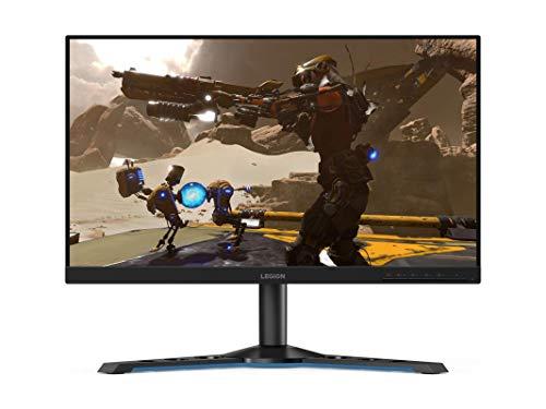 Lenovo Legion Y25-25 62,23 cm (24,5 Zoll, 1920x1080, Full HD, 240Hz, WideView, entspiegelt) Monitor (HDMI, DisplayPort, 1ms Reaktionszeit, AMD Radeon FreeSync) schwarz