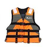 ENTRE NUBES Gilet de sauvetage pour adultes homologué pour sports nautiques Sup Pêche Kayak Rafting Motos d'eau bateau enfant (hauteur 170 – 175 cm, poids 60 – 70 kg)