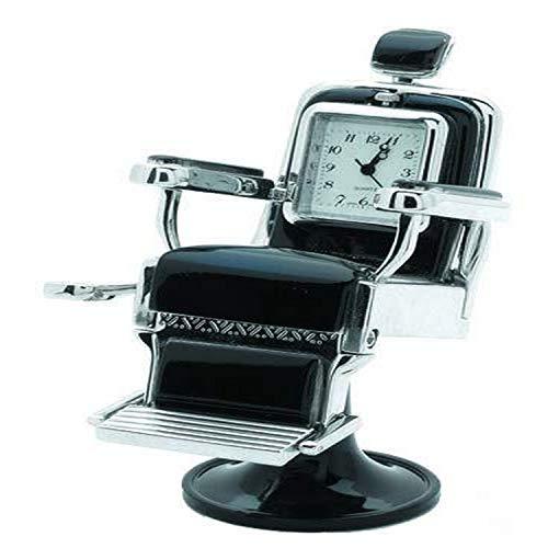 Sanis Enterprises Silver 1.5'x1.5'x3.5' Barber Chair Desk...