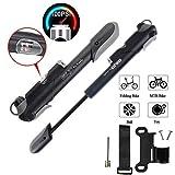 LangTek Mini Pompe à vélo, Pompe à Main Portable Forte...