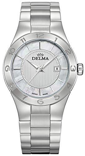 Delma Damenuhr Analog Quarz Metallarmband - 407153
