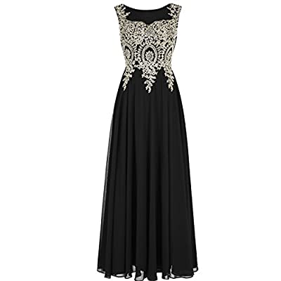 Sheer A line long formal gowns for women, Shiny crystals rhinestones gold lace top, Floor length Plus size available, Zipper back SEE THROUGH front and SEE THROUGH back. All dresses are made to order even if standard size. Please find a soft tape to ...
