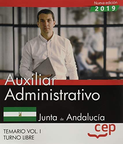 Auxiliar Administrativo (Turno Libre). Junta de Andalucía.