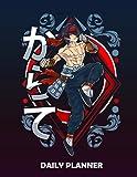 Daily Planner The Martial Artist | Japanese Anime Martial Arts Manga Otaku: Planner &...