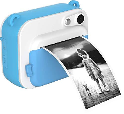 【Oaxis】【撮った画像その場で印刷】myFirst Camera Insta インスタ プリンターカメラ 【全二色】2インチIPS画面 /インクレス印刷/ サーマル印刷/操作簡単/タイムラプス/デコレーション ミニカメラ キッズカメラ (青)