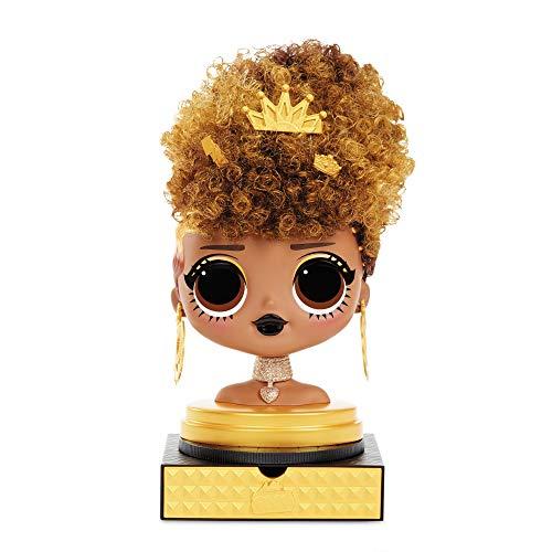 Image 1 - LOL Surprise Tête à coiffer OMG avec perruques aux coiffures infinies - 30 surprises et accessoires - Royal Bee
