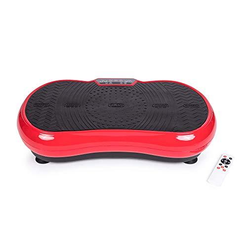 GLOBAL RELAX ZEN SHAPER® MINI vibration plate (2021 new model) - Fitness oscillating vibration platform – MP3 music – 3 exercise areas (walk-jogging-running) - 2 YEARS Warranty