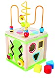 Small Foot 10074 Cube d'activités 'Insectes', y compris jeux de formes,...