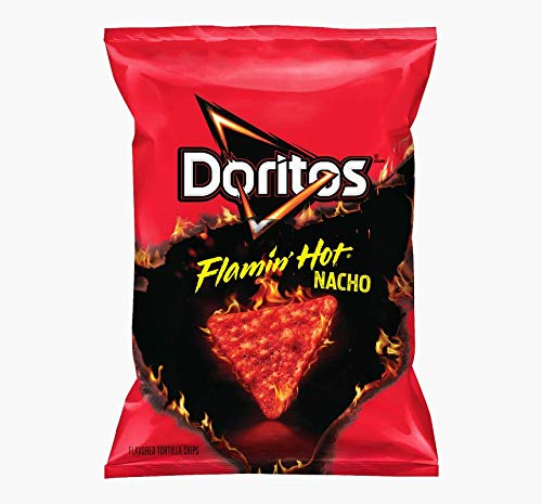 Doritos Flamin'Hot Nacho Tortilla Chips, 311.8g