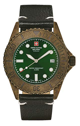 Swiss Alpine Military 7051.1583 Diver Vintage 41mm 10ATM