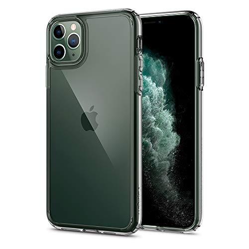 【Spigen】 iPhone 11 Pro ケース 5.8インチ 対応 全面 クリア 米軍MIL規格取得 耐衝撃 カメラ保護 衝撃吸収 Qi充電 ワイヤレス充電 ウルトラ・ハイブリッド 077CS27233 (クリスタル ・クリア)