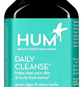 HUM Daily Cleanse Skin Supplement - Clear Skin & Body Detox with Organic Algae, 14 Herbs, Vitamins & Minerals to Help… 3 - My Weight Loss Today