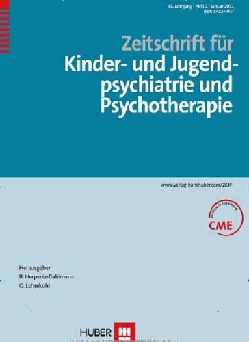 Zeitschrift für Kinder- und Jugendpsychiatrie und Psychotherapie