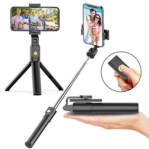 Applab Selfie Stick Tripod with Bluetooth Wireless Remote