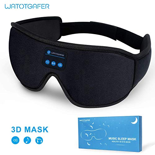 Sleep Headphones, Bluetooth 5.0 Wireless 3D Eye Mask...