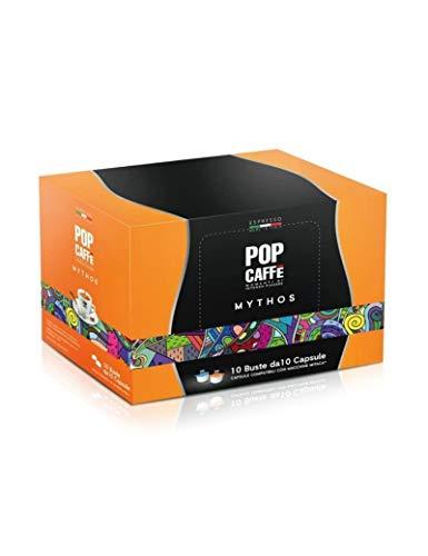 100 CAPSULE COMPATIBILI MITACA MPS POP CAFFE' MISCELA ARABICO