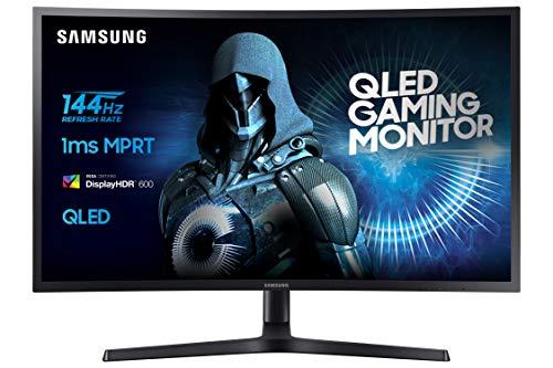 "Samsung C32HG70QQU Moniteur Gaming incurvé, Dalle VA 32 "" WQHD (2560 x 1440, 144 Hz, 1ms, HDR 600, QLED) noir"