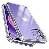 【半透明!指紋防止!】McDuLL iPhone 12 用 ケース iPhone 12 Pro 用 ケース 6.1インチ 半ク……