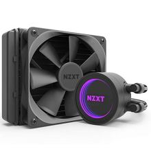 NZXT Kraken X62 280mm - RL-KRX62-02 - AIO RGB CPU Liquid Cooler - CAM-Powered - Infinity Mirror Design - Performance Engineered Pump - Reinforced Extended Tubing - Aer P140mm Radiator Fan (2 Included),Black