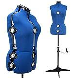 Mannequin de Couture Réglable Femme Avec 13 Molettes de Précision Taille...