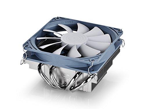 Deepcool Gabriel Dissipatore per CPU Intel e Amd 4 Heatpipes Ventola PWM da 120mm Ultrasottile