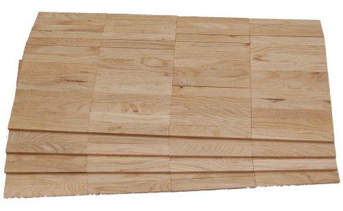 Mosaikparkett Eiche rustikal Parallel Massivparkett Massiv Mosaik roh unbehandelt Musterparkett Parkett
