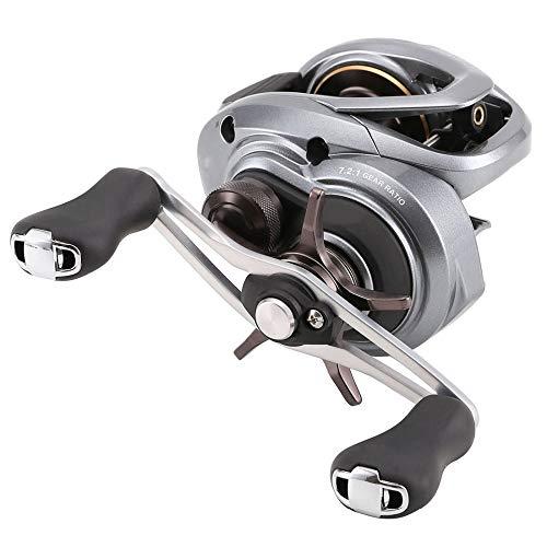 Hifanei Mulinello da pesca 7000 Bait casting Mulinello da pesca ad acqua salata SVS Infinity 5 + 1BB 185G basso profilo