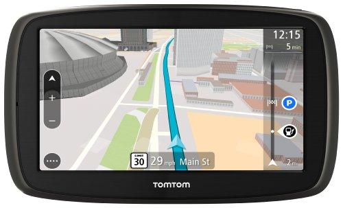 GPS Automotivo TomTom GO 60B com Mapa Mundo*, tela 6' com alerta de radar e leitor de cartão SD