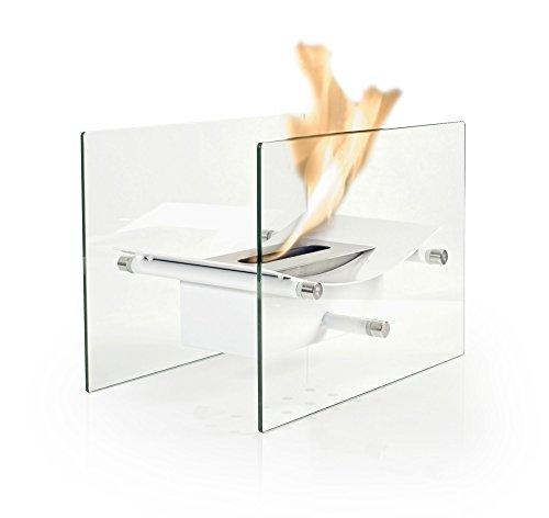 Bio Fires - Bow Bio Ethanol Burner White
