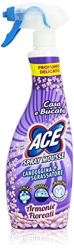Ace Spray Mousse Armonie Floreali - 5 pezzi da 700 ml [3500 ml]