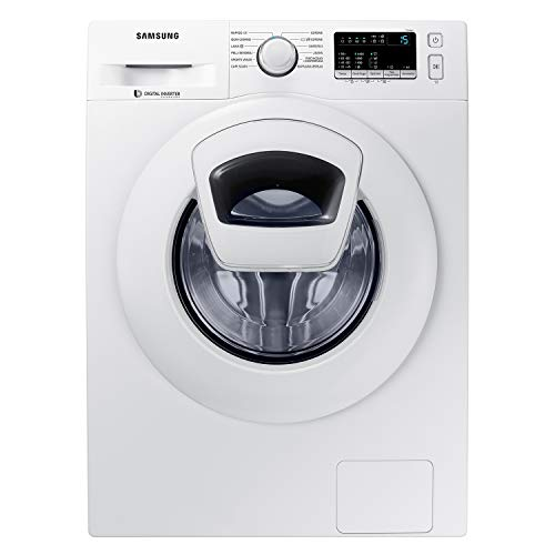 Samsung WW90K4430YW Lavatrice 9 kg AddWash, 1400 rpm, Display LED, Bianco, 60 x 55 x 85 cm