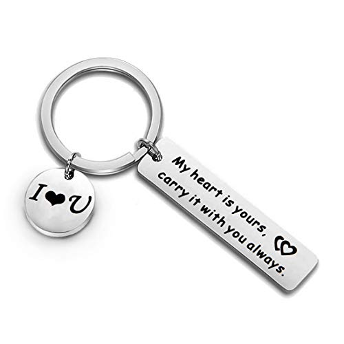 Anniversary Keychain Gift for Him or Her A Thoughtful...