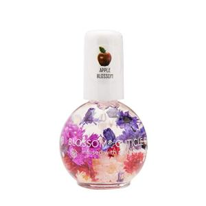 Blossom Scented Cuticle Oil (0.42 oz) infused with REAL flowers - made in USA (Grape) 15