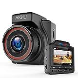 AIQiu AM000C1 Dash Cam, 1296P FHD Car Driving Recorder 1.5' Mini Night Vision Vehicle Dashboard Camera with G - Sensor, Black