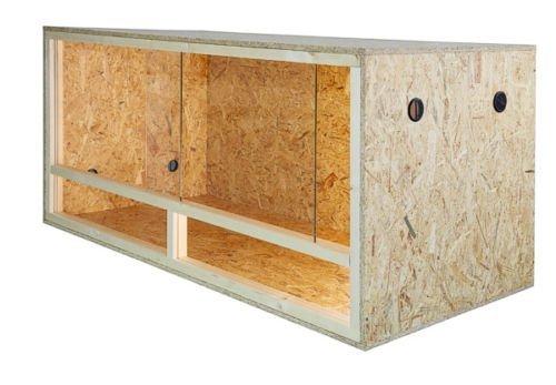 Terrario: madera Terrario para Reptiles página ventilación 100x...