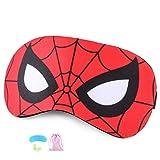 Masque de yeux Masque de Sommeil pour enfants Spiderman Respirable Eye Mask...
