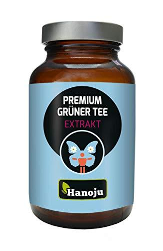 90 Kapseln Grüner Tee Extrakt Premium 400 mg   Nahrungsergänzungsmittel aus Grüntee