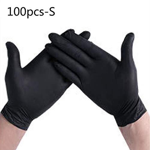 Newwyt, guanti usa e getta per la pulizia della casa, in nitrile, guanti per nail art, tatuaggi,...