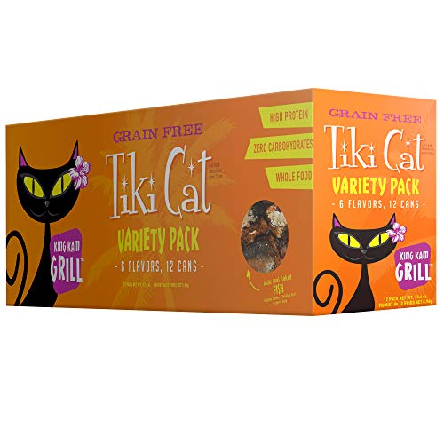 Tiki Cat Grill - 2.8 oz. 12BX - King Kam Variety Pack