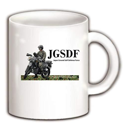 陸上自衛隊 偵察用オートバイ マグカップ(ホワイト) ホワイト