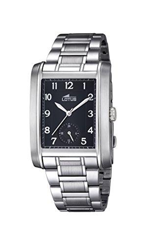 Lotus Herren Analog Uhr mit Edelstahl beschichtet Armband 18351/3